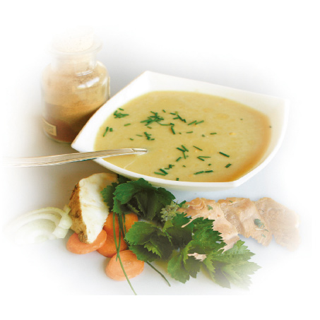 Cremesuppe-mit-Hühnergeschmack