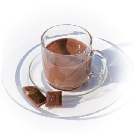 Heissgetränk-mit-Schokoladengeschmack